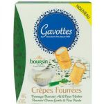 Mini Crepes with Boursin Cream, Gavottes